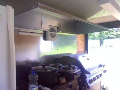 16FT by 7FT custom fitted mobile kitchen
